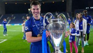 César Azpilicueta tras ganar la Champions League