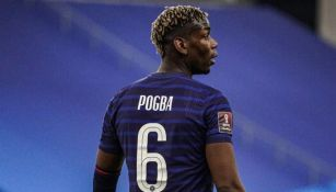 Paul Pogba con la selección francesa