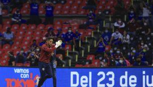 Cruz Azul: Afición mostró su apoyo a los jugadores en alineación