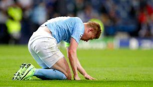 Manchester City: Kevin De Bruyne sufrió fractura de órbita y de nariz tras choque con Rudiger