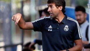 Raúl González, como DT de la cantera del Real Madrid