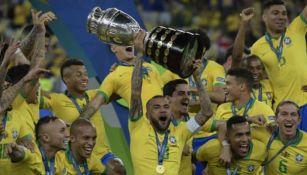 Brasil, el más reciente campeón de Copa América