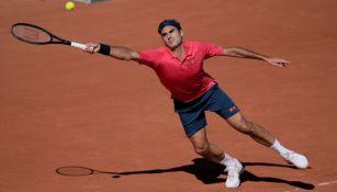 Roger Federer en Roland Garros