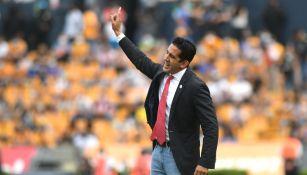 Edgar Mejía en derrota ante Tigres