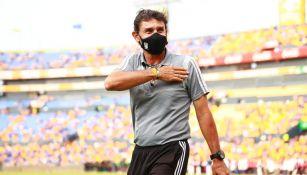 Roberto Medina en campeonato de Tigres