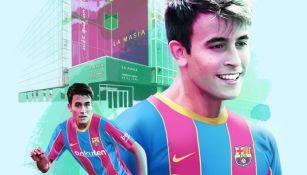 Eric García luce los colores del Barcelona