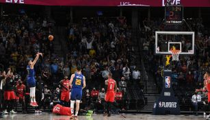 Nuggets contra Blazers en playoffs