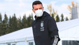 Entrenador de la selección Argentina Lionel Scaloni