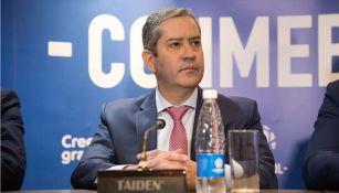 Rogério Caboclo, en conferencia de prensa