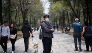 Calles de la Ciudad de México en pandemia