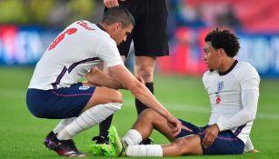 Trent Alexander-Arnold tras su lesión en el muslo