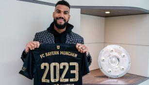 Choupo-Moting tras renovar contrato con el Bayern Munich