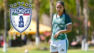 Liga MX Femenil: Lucero Cuevas fichó con Pachuca