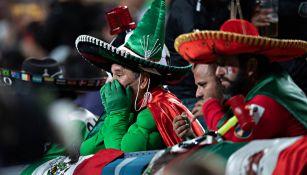 Afición del Tri en juego ante Costa Rica