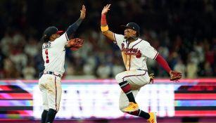 MLB: Atlanta venció a Los Angeles de la mano de Ozzie Albies y Abraham Almonte