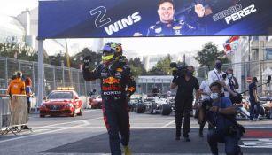 Checo Pérez, tercer lugar en campeonato de pilotos tras triunfo en GP de Azerbaiyán