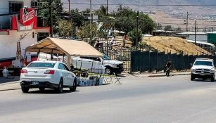Encontraron cabeza humana en casilla en Tijuana