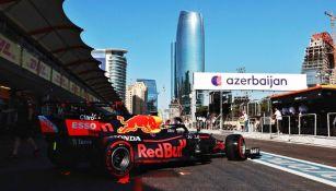 'Checo' Pérez en el Gran Premio de Azerbaiyán