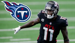 NFL: Julio Jones llega a Tennessee a cambio de una segunda ronda de Draft