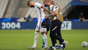 Karim Benzema en lamento con Francia