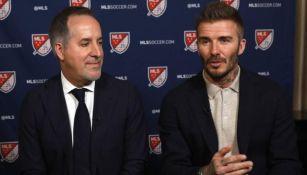 Jorge Mas y Daviv Beckham