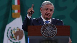 Andrés Manuel López Obrador en 'La mañanera