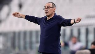 Maurizio Sarri pendiente de un partido de la Serie A
