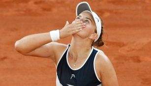 Krejcikova tras victoria sobre Maria Sakkari