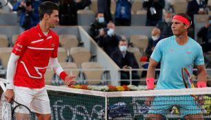 Nadal y Djokovic en competencia