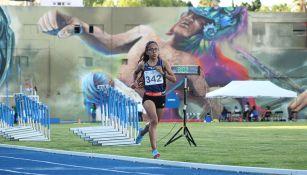 Daniela Torres en el Campeonato Nacional de Atletismo