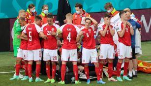 Eriksen se desvaneció durante el juego entre Dinamarca y Finlandia
