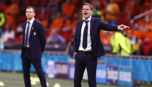 Frank de Boer en victoria ante Ucrania