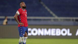 Arturo Vidal reiteró su deseo de jugar en el América