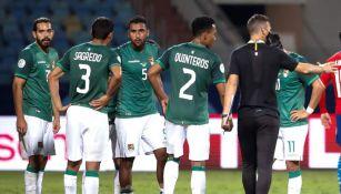 Bolivia en partido vs Paraguay