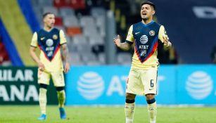 Sergio Díaz como jugador del América