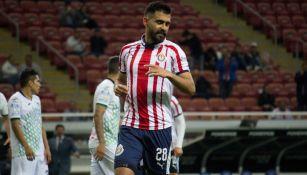 Miguel Basulto en su paso por Chivas
