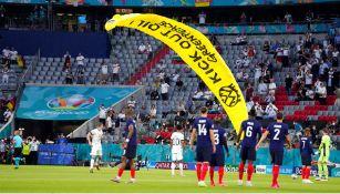 Eurocopa: Greenpeace se disculpó por paracaidista que aterrizó en Allianz Arena
