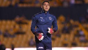 Hugo González previo a un partido con Monterrey