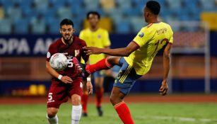 Colombia contra Venezuela