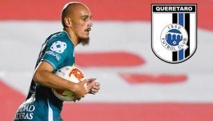 Nico Sosa, en festejo de gol