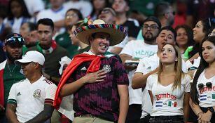 Aficionados de México en el amistoso ante Honduras