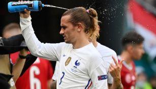 Antoine Griezmann en acción con Francia