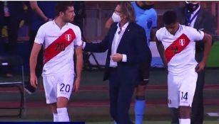 Santiago Ormeño debutó con Perú