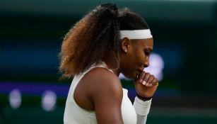 Serena Williams se retiró de Wimbledon por lesión en el tobillo