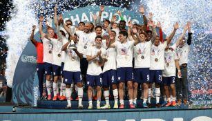 Selección de Estados Unidos campeona de la Nations League