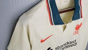 Nuevo uniforme del Liverpool