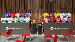 Presentación del museo de LaLiga en México