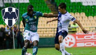 Campbell y Aguirre ficharon por Rayados