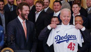 Dodgers: Visitó la Casa Blanca por el título obtenido en 2020