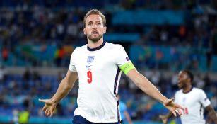Harry Kane tras anotar gol a favor de Inglaterra